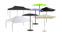 Verleih : Schirme - Zelte