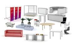 Verleih : Möbel - Mobiliar