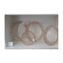 Glasteller Kupfer Ø 28 cm