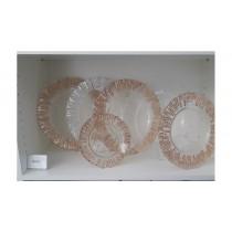 Glasteller Kupfer Ø 33,5 cm