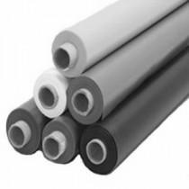 1 lfm Lackfolie (weiß) 1,3 m breit  (Rolle zu 30,0m )