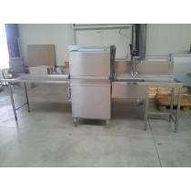 Spülmaschine Durchschub- Haubenspülmaschine Winterhalter GS 72 , Eurokistenfähig 60*40cm, ( ohne Tische )