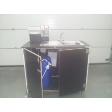 autarkes Handwaschbecken, mit Boiler, mit Hygienespender, 230V 2,0 kw