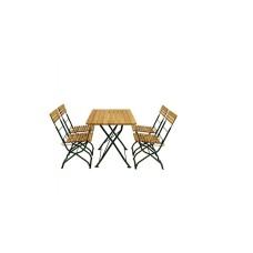 Biergartentisch mit 4 Stühlen