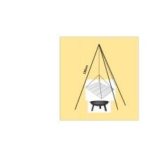 Dreibein mit Schwenkgrill