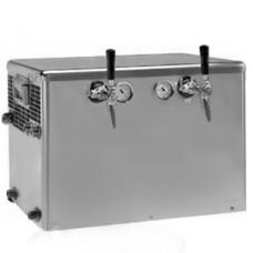Bierdurchlaufkühler 2 - leitig