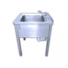 Einbeckenspüle Handwaschbecken 950 x 850