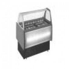 Eistheke für Speiseeis klein (incl. 4 Einsätze)  230V