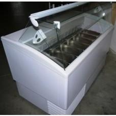 Eistheke für Speiseeis SAMOA 9 groß (incl. 9 Einsätze) 230 V / 1400 W