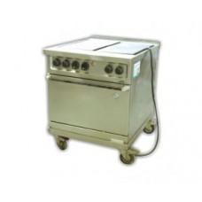 Elektroherd 4 Platten, Standgerät, mit Backrohr 16A CEE