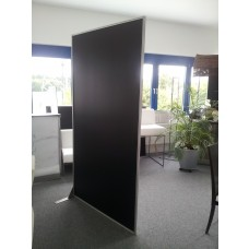 """Paravent """"EVENT""""  120 x 210 cm Schwarz - Weiss"""