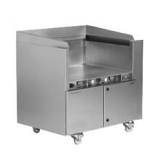 Fresh & Smart Gerät mit integriertem Bohner Flachgrill Hochglanz, Bratfläche, 16A CEE