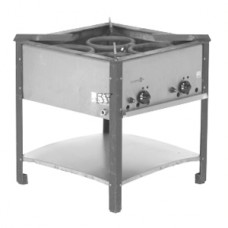 Hockerkocher Gas Wokbrenner gross