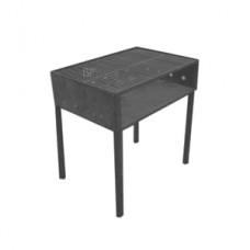 Holzkohlegrill FERRO, 150x100 (Achtung! weist starke Gebrauchsspuren auf)