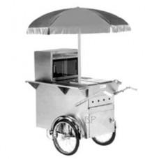 Hot Dog-Wagen Gas inklusive Wasserbad (Brotspieß, Grill nicht einkalkuliert)