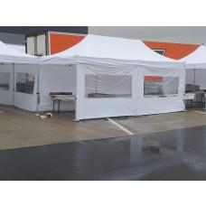 Küchenzelt mit Seitenteilen 3 x 6 m