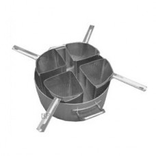 Pastatopf mit 4 Einsätzen   Ø 36 cm / h 23 cm  20 Liter