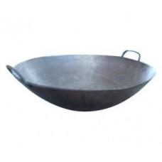 Riesenwokpfanne, für Hockerkocher Gas Wokbrenner