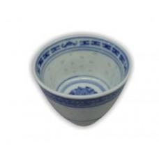 Sakeschälchen blau/weiß  0,06 l