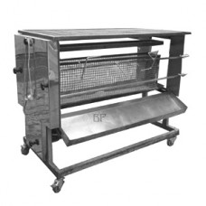 Spanferkelgrill Holzkohle mit Rostfunktion 230V, für Ferkel bis max. 15 kg