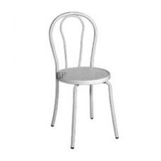 """Stuhl """"Bistro"""" weiß  (hat Gebrauchsspuren - wir empfehlen Hussen)"""