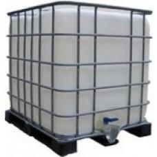 Trinkwassertank 600 l  IBC  80 x 120 x 120 (Europalettenmaß)